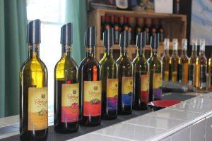 Vins de baies de la Rodrigues Winery. Photo : David Jensen